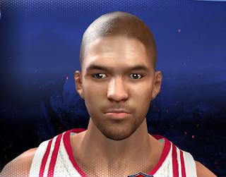NBA 2K14 Chandler Parsons Hair Update