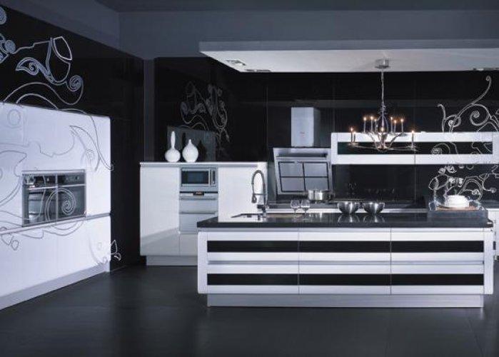 Tasar m d nyas amerikan mutfak modelleri - Revestimientos cocinas modernas ...