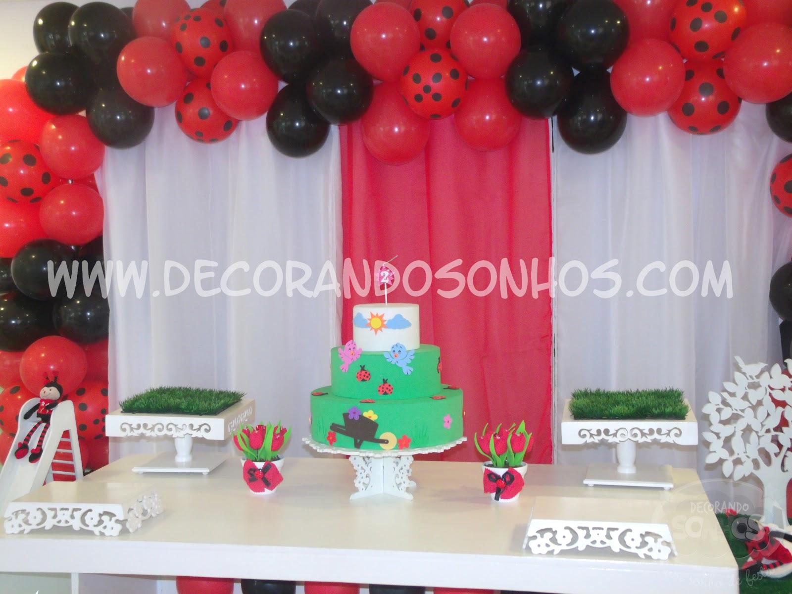 decoracao de festa infantil jardim das joaninhas:+clean+jardim+encantado+decoração+de+festa+infantil+joaninha+festa