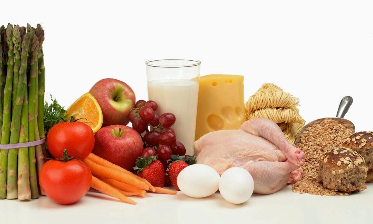 Alimentación saludable equilibrada