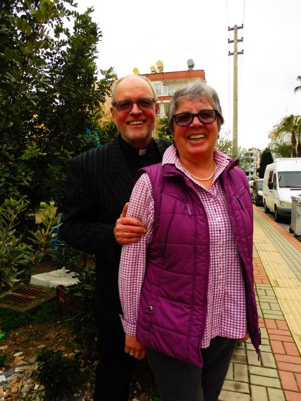 Unser Pfarrer mit seiner Frau