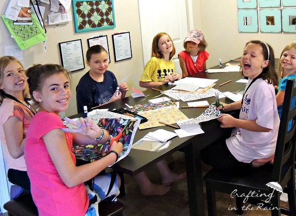 kids make cards