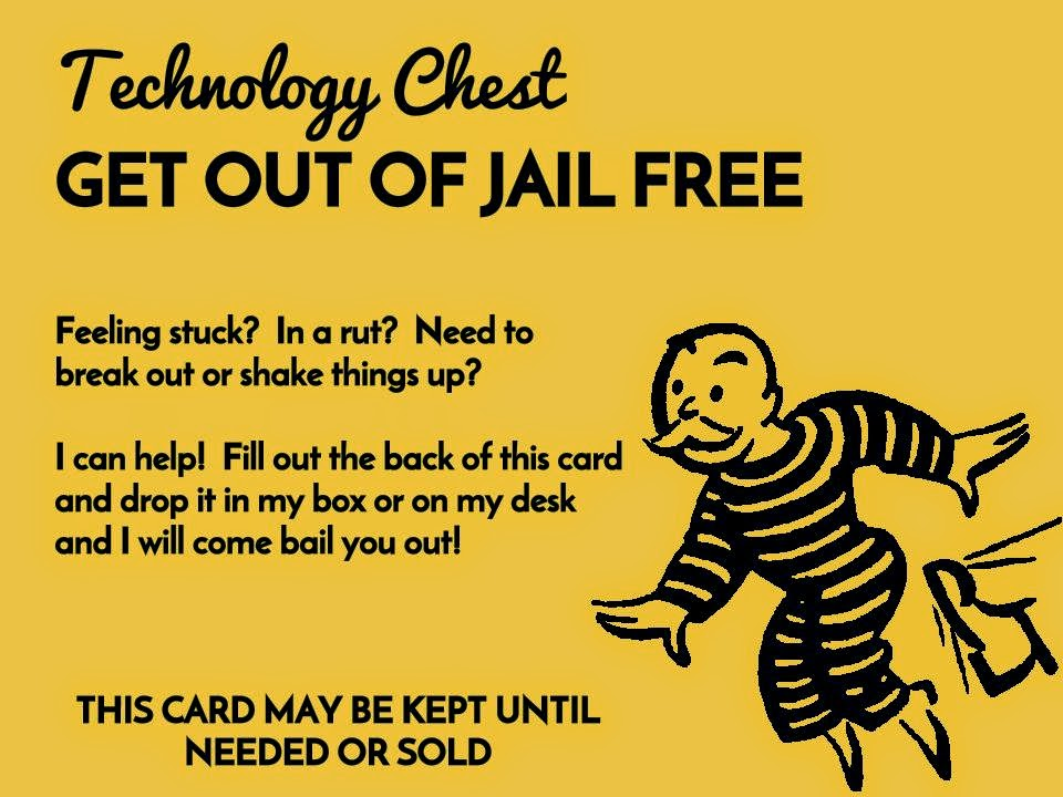 get out of jail free card People to believe that we may be on the way to a get out of jail free card, the hope of many that technology will come to the rescue, so we do not need to be so concerned about the mess we are leaving for young people.