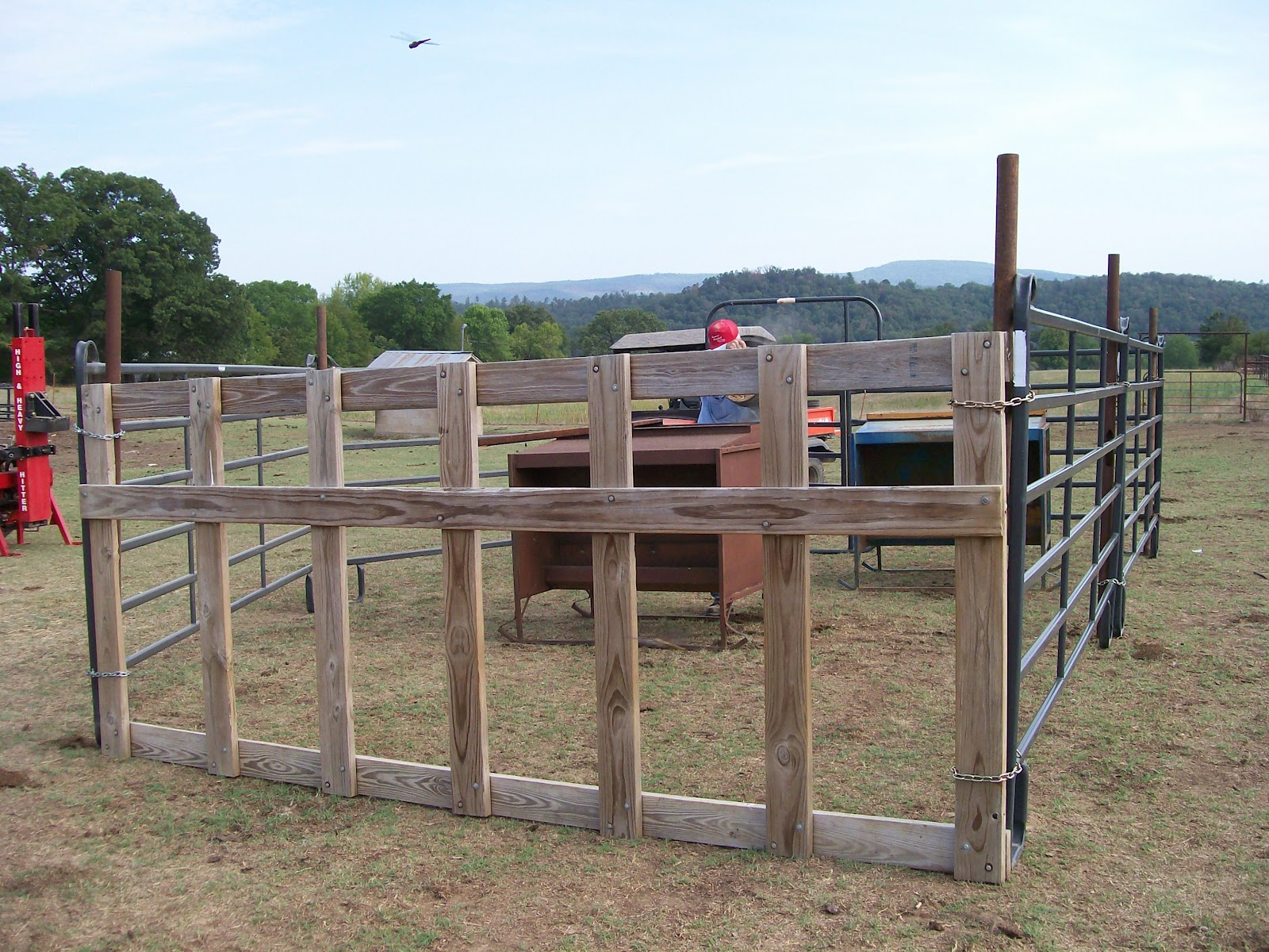 EMZ-Piney Post: Fixing a Place for the Calves to Eat