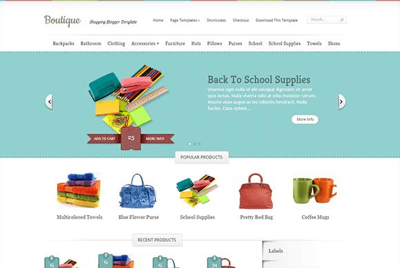 Boutique blogger template high quality free blogger templates maxwellsz