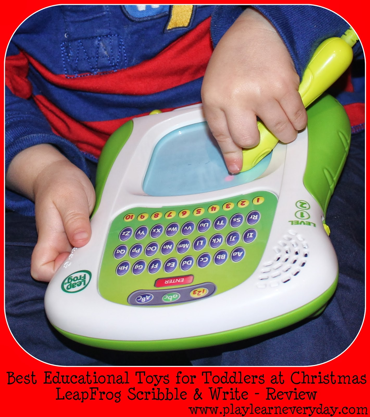 Best Learning Toys For Toddlers : Leapfrog scribble write educational christmas toy