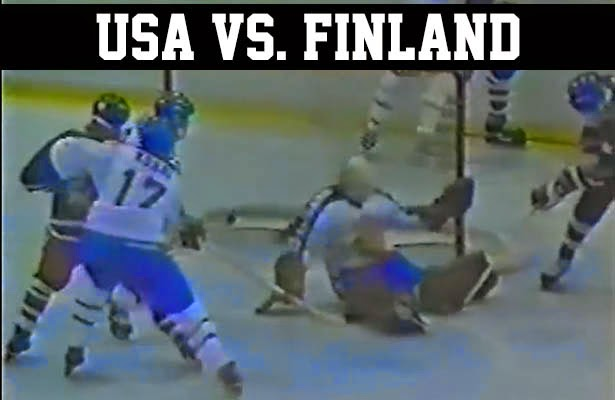 Lake Placid 1980 Olympic Winter Games miracle on ice team usa vs. finland