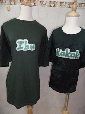 jahit felt tshirt