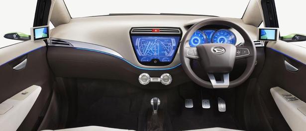 interior mobil daihatsu a concept