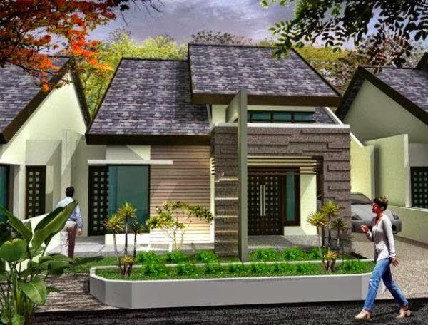 contoh model rumah minimalis 2