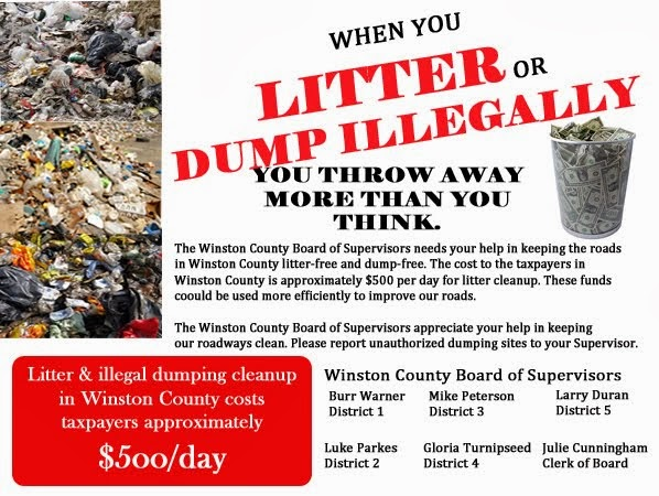 Don't Trash Winston County