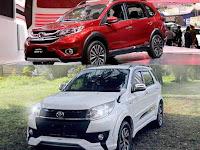 Honda BRV Vs Toyota Rush Mana yang lebih Unggul?