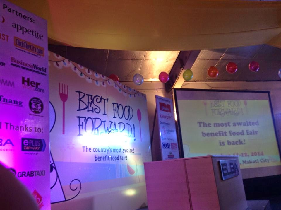 Best Food Forward 2014 Stage
