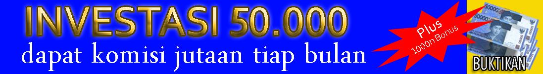 modal 50.000 untuk seumur hidup