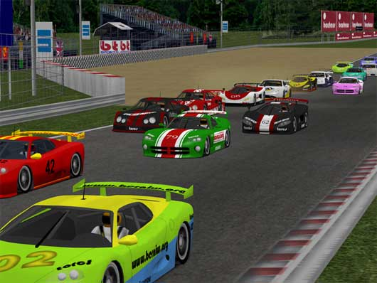 Torcs racing game corrida PC