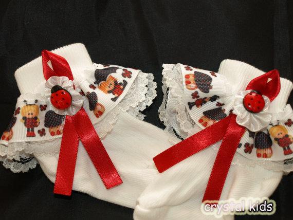Ladybug Socks!