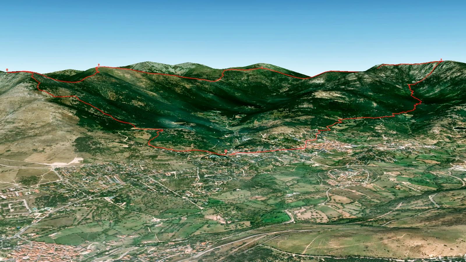 Cercedilla trail recmountain for Suelo 3d madrid