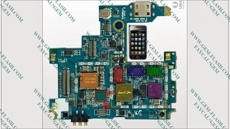 Samsung Galaxy S I9000 Speaker Solution