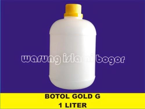 Jual Botol Gold G