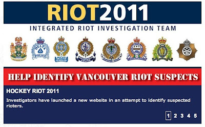 Vancouver Riot 2011 - ratting out your neighbor