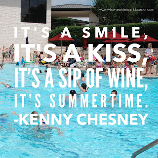 While I'm Waiting...Kenny Chesney lyric - summertime