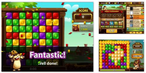 FB Game : Diggle Blitz