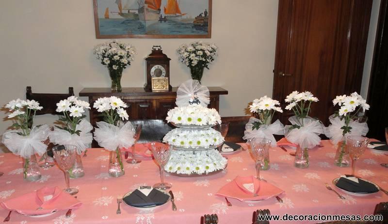 decoracion de mesas mayo 2013