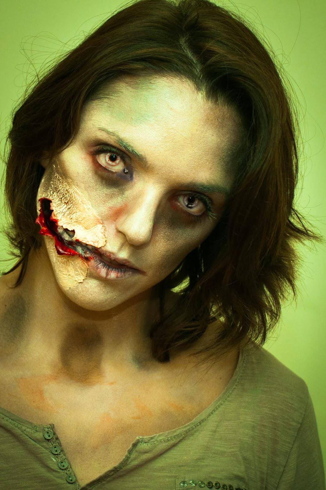 pixies tips halloween 2013 maquillage de zombie et sculpture de citrouilles. Black Bedroom Furniture Sets. Home Design Ideas