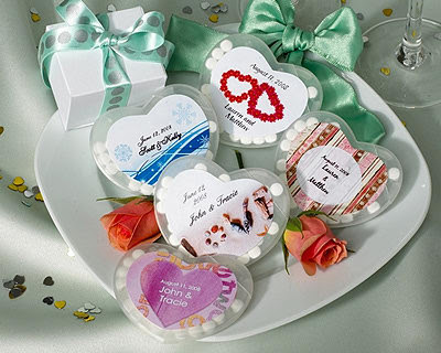 Personalized+Winter+Theme+Heart+Shaped+Mint+Containers
