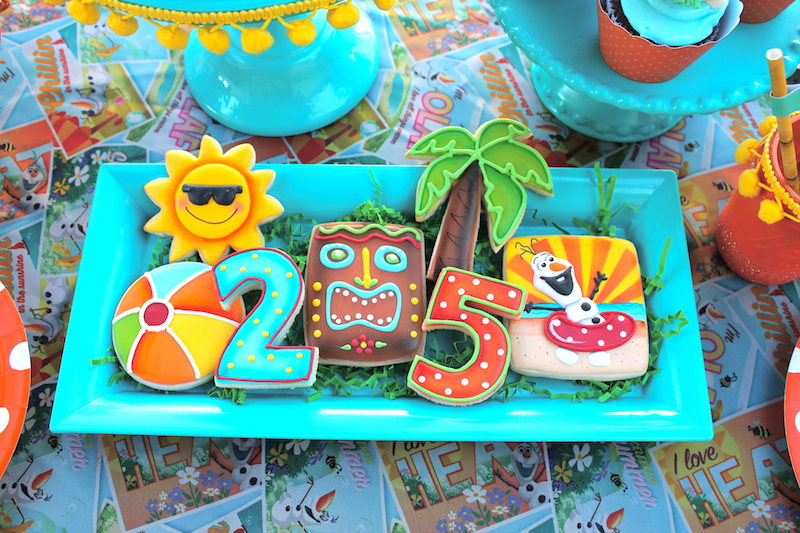 I Created A Faux Cake Adorned With Orange Festooning From Celebration Lane Wrapping Paper And Tiki Topper