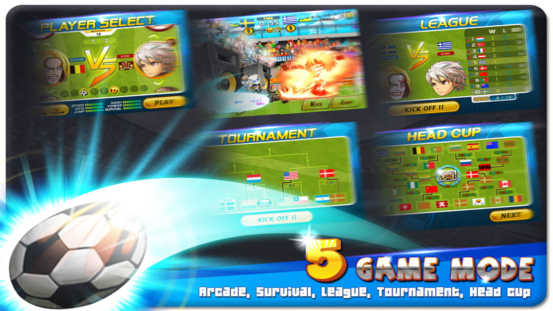 Head Soccer 3.1.2 Mod Apk (Unlimited Money) Screenshot by http://jembersantri.blogspot.com