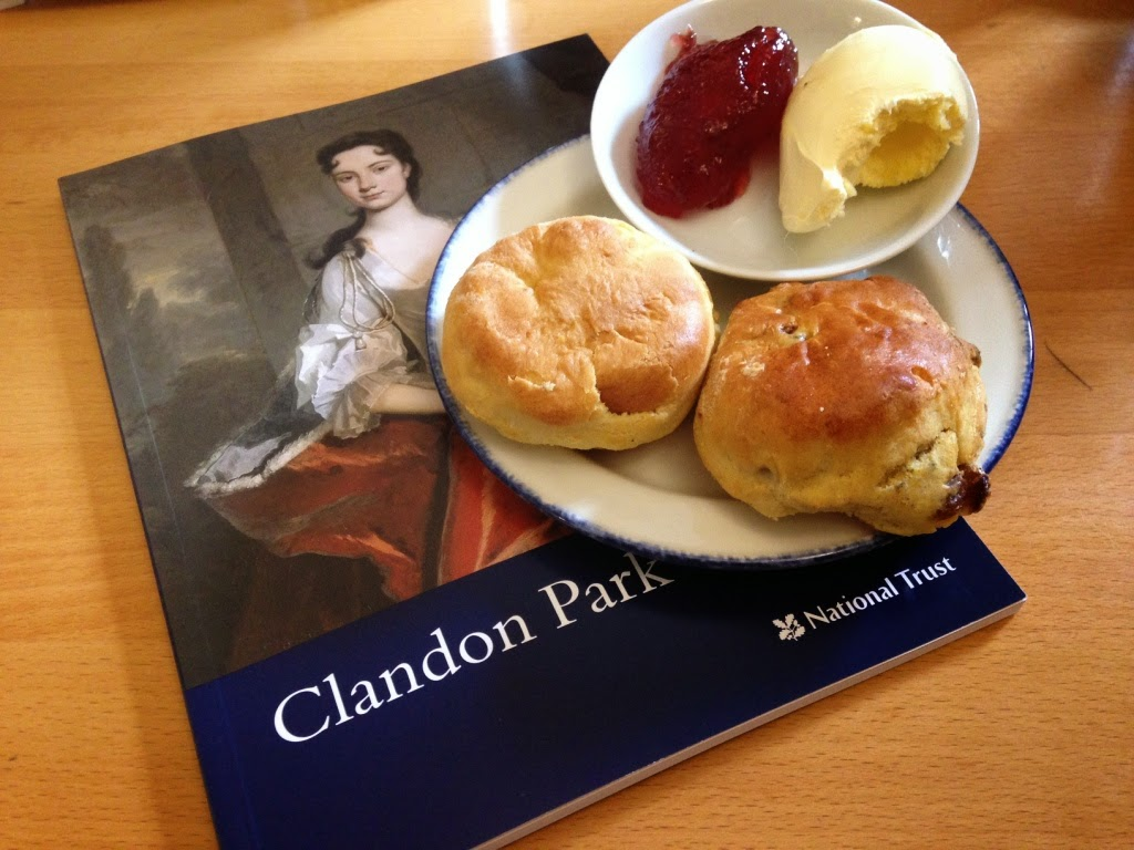 Clandon Park scones