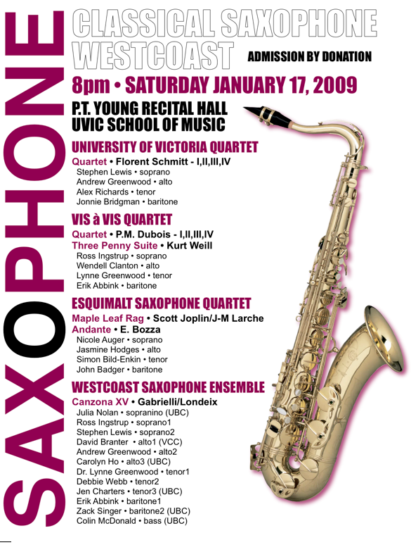 West Coast Classical Saxophone