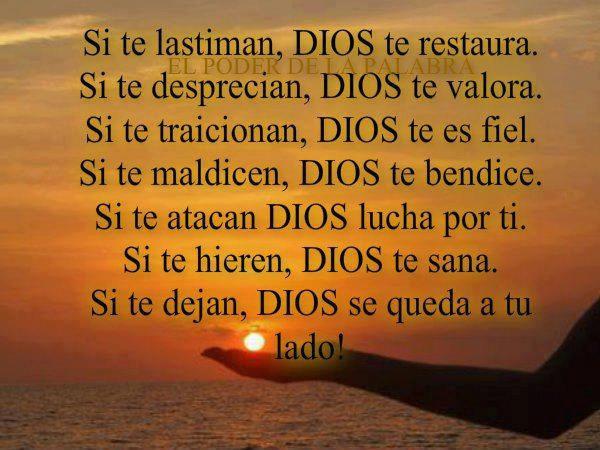 DIOS se queda a tu lado