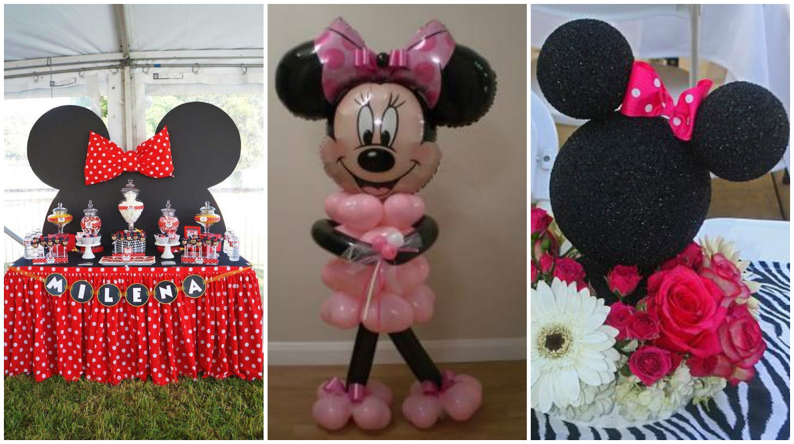 Cómo decorar una fiesta inspirada en Minnie Mouse
