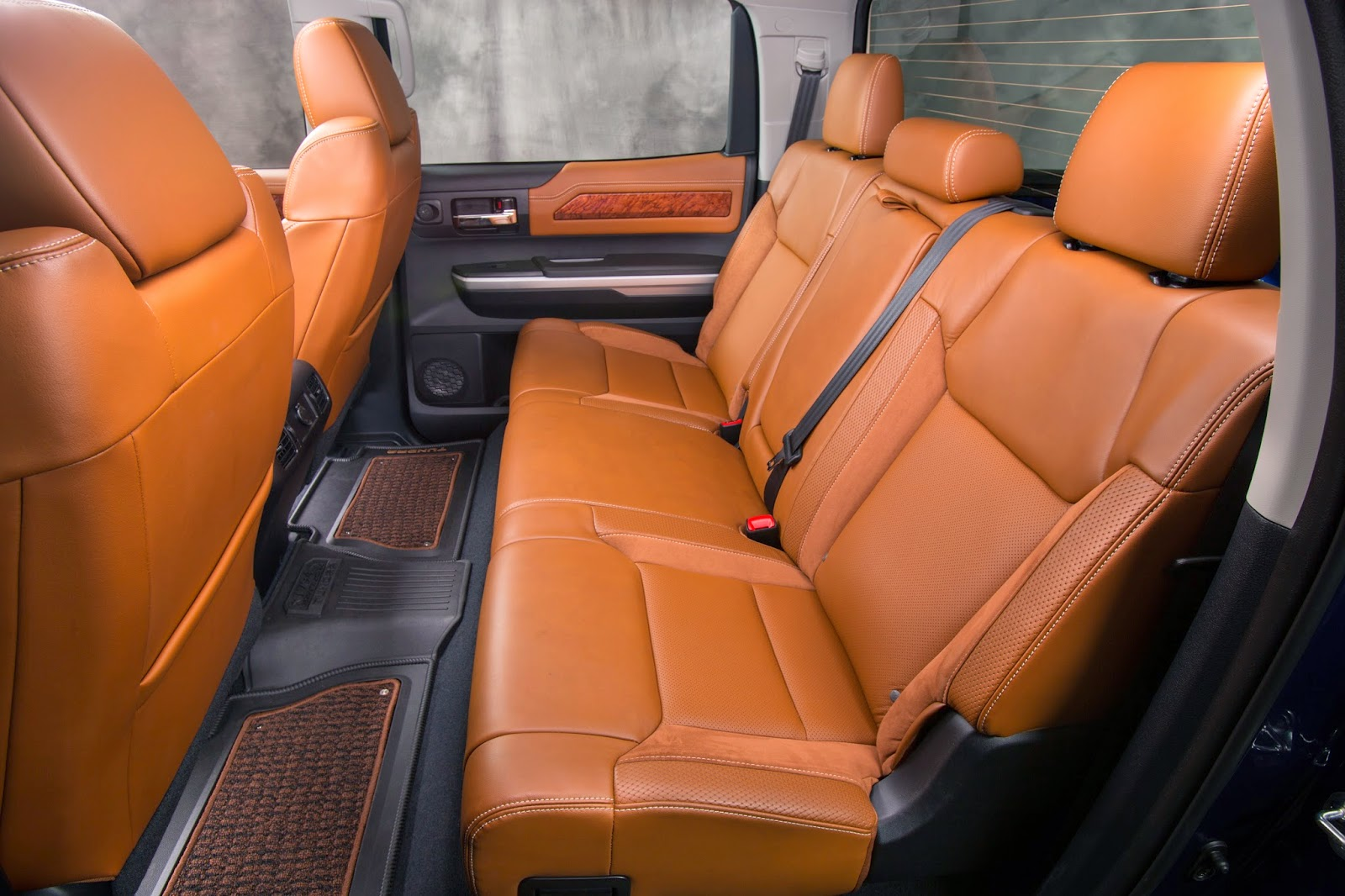Rear seat of 2014 Toyota Tundra 1794 Edition
