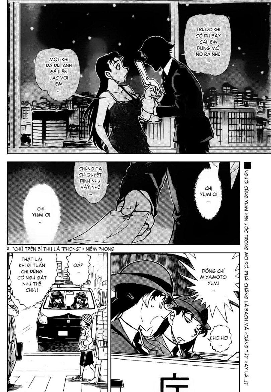 Thám Tử Lừng Danh Conan - Chapter 847 - Pic 4