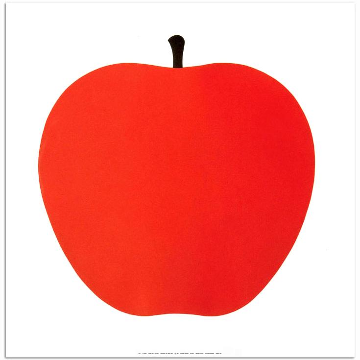 Enzo_Mari_La_MELA_Apple_Print_Poster