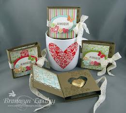 Vintage Valentine Chocolate Holders Tutorial