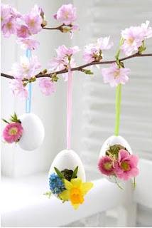 arranjo páscoa, casca de ovos, decoração páscoa