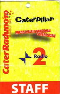 Pass Cater Raduno 2010