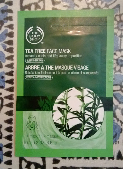 The Body Shop Tea Tree Mask Review