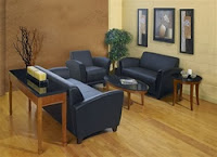 Leather Lounge Furniture Configuration