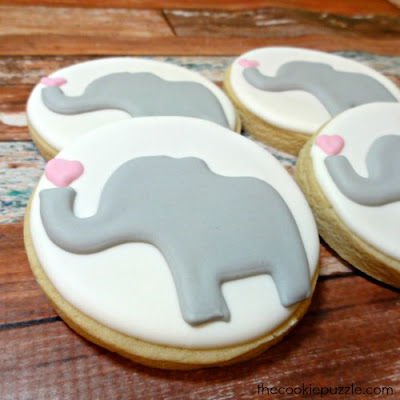The Cookie Puzzle Elephant Cookies