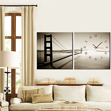 Reloj de Pared Golden Gate