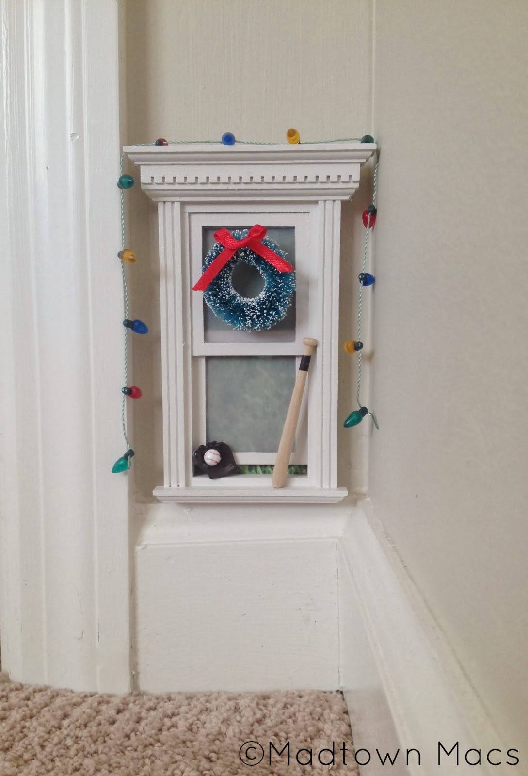 Christmas fairy door and magic window charisa darling for Original fairy door