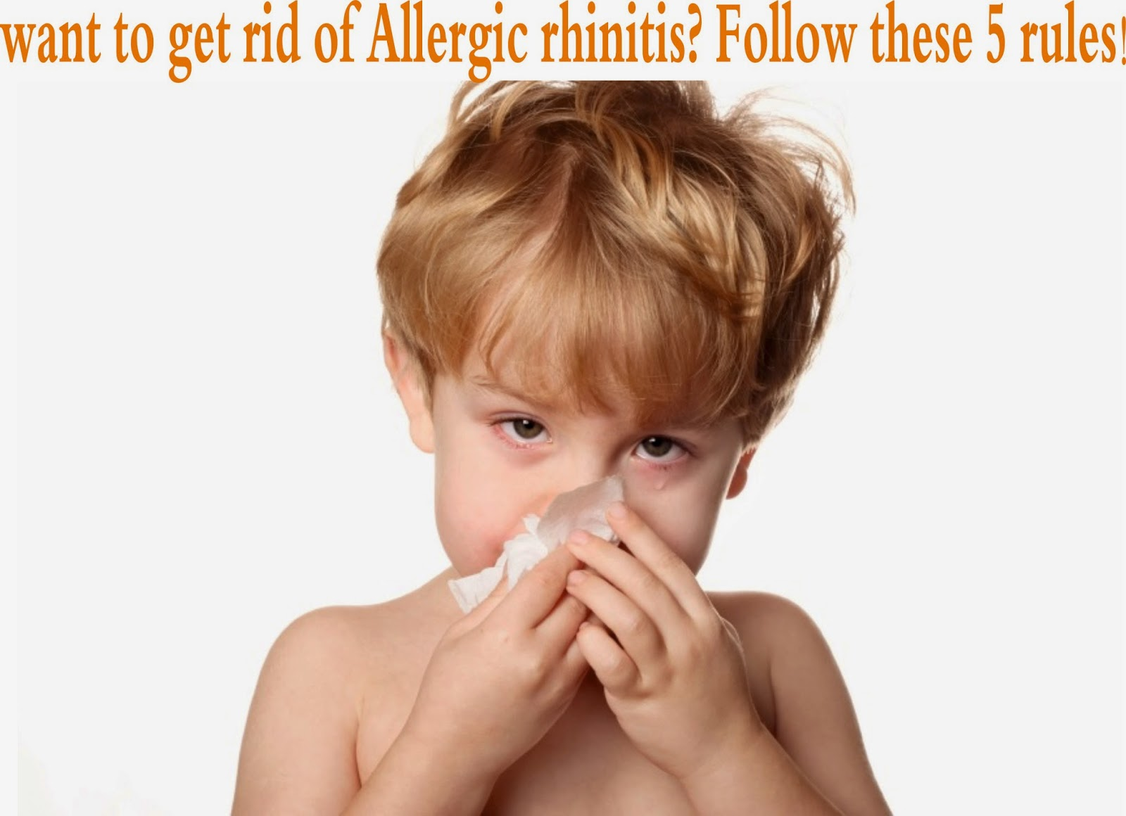 Is it possible to get rid of allergic rhinitis