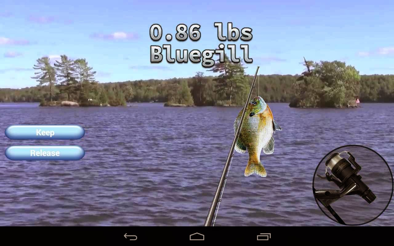 i Fishing 3 Lite Balık Tutma Android Oyunu resimi