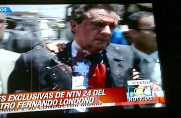 Atentado terrorista contra el periodista  Fernando Londoño Hoyos