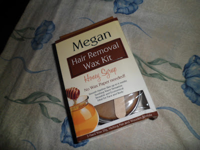 Megan Hair Removal Kit - Honey Syrup